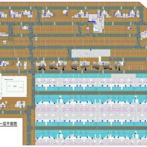 地下停车场设计-停车场平面效果图设计-地下车库设计
