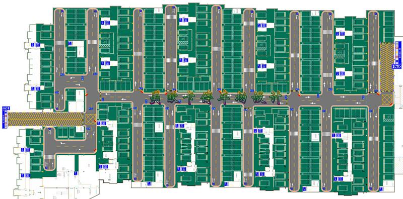 停车场设计平面图