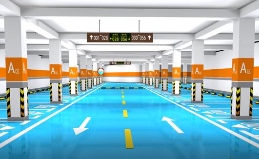 3D停车场设计样板图纸